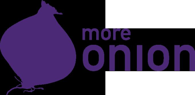 more onion logo