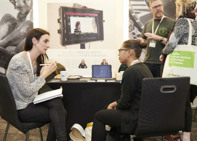 Charity Digital Conference 2018 - exhibitions