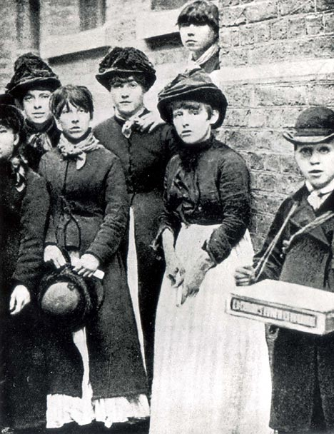 Matchgirl strikers (credit: TUC archive)