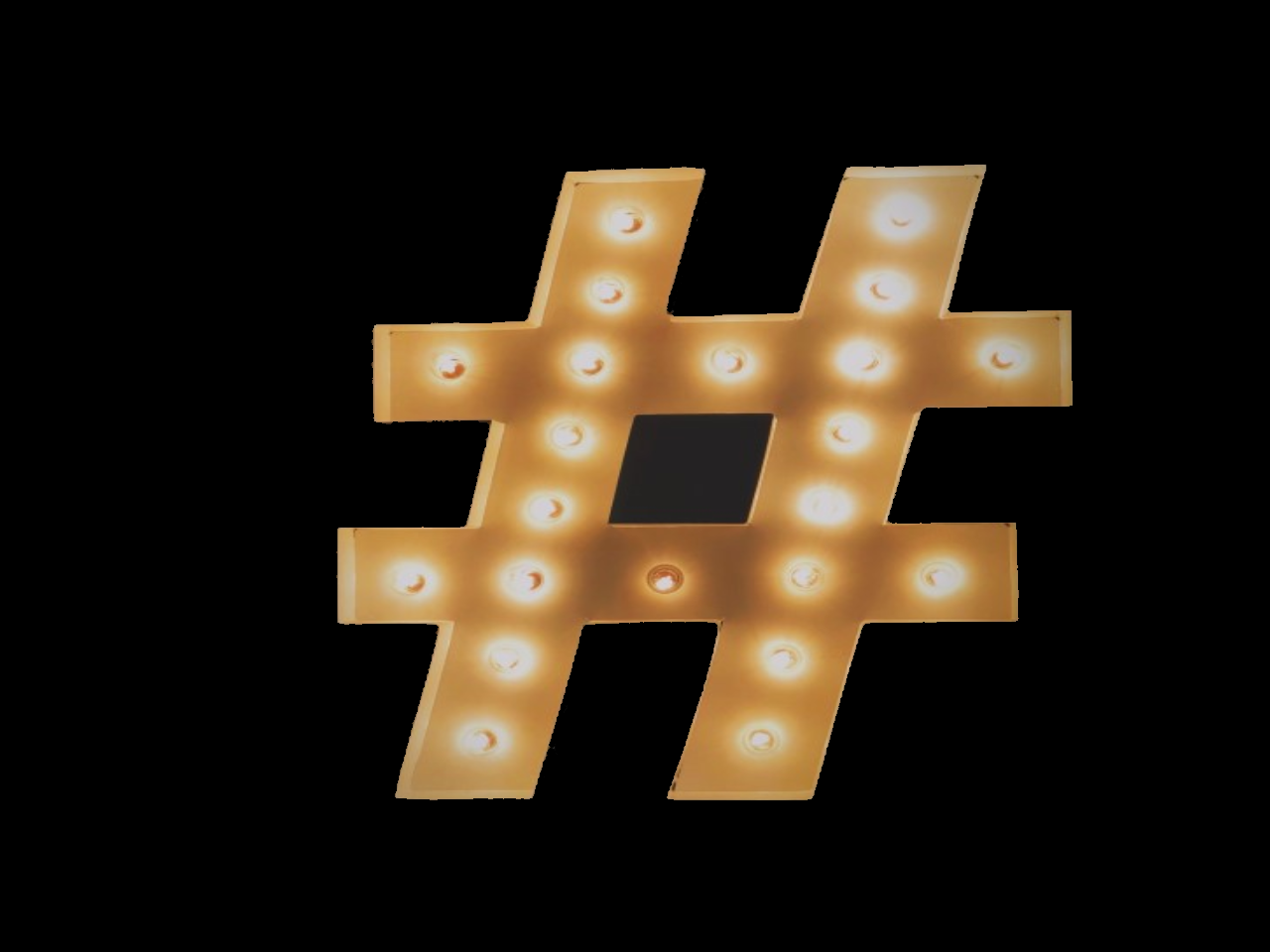 The power of a hashtag