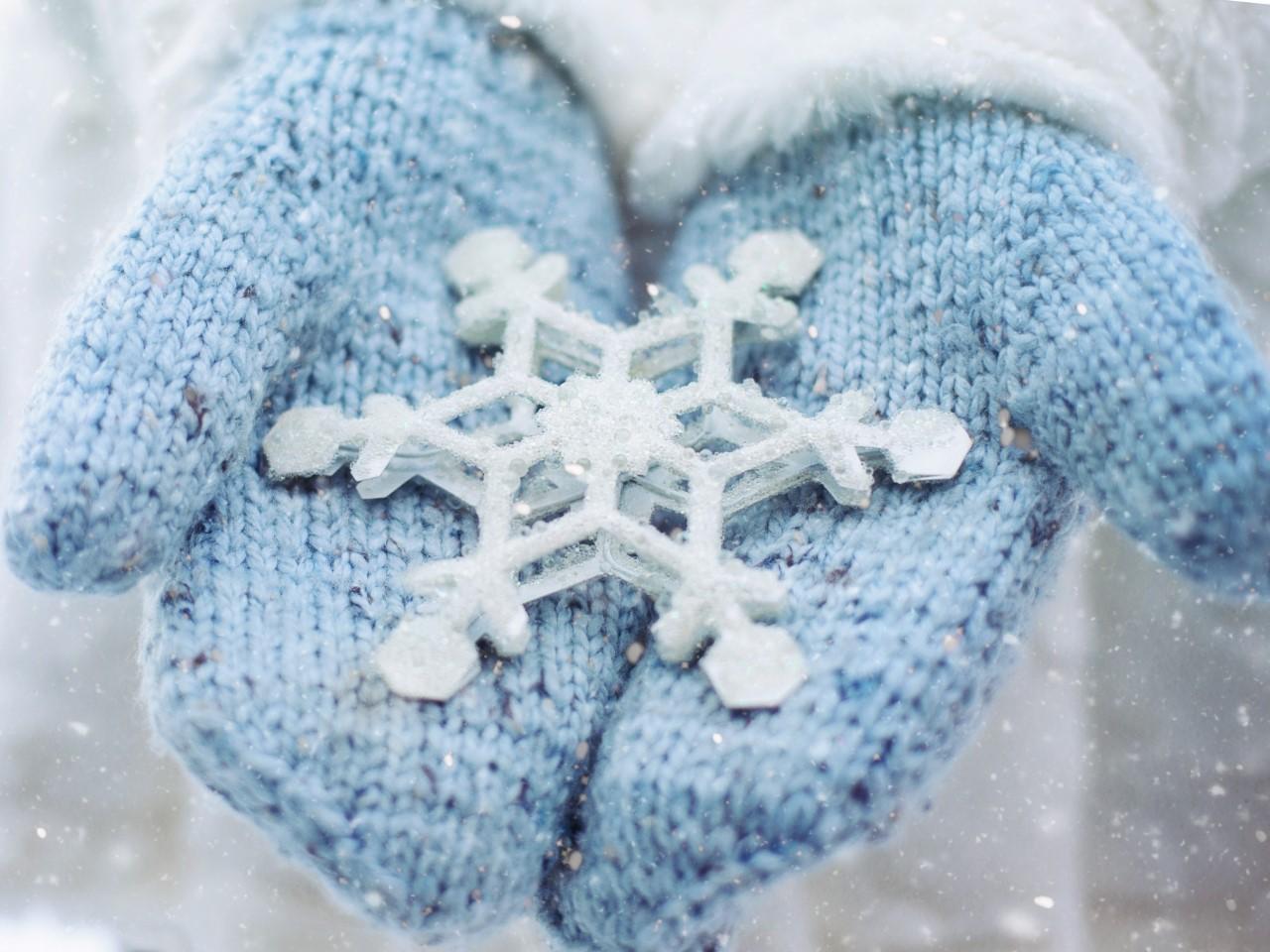 Snowflakes and festive feelings