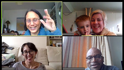 The CharityComms on Zoom