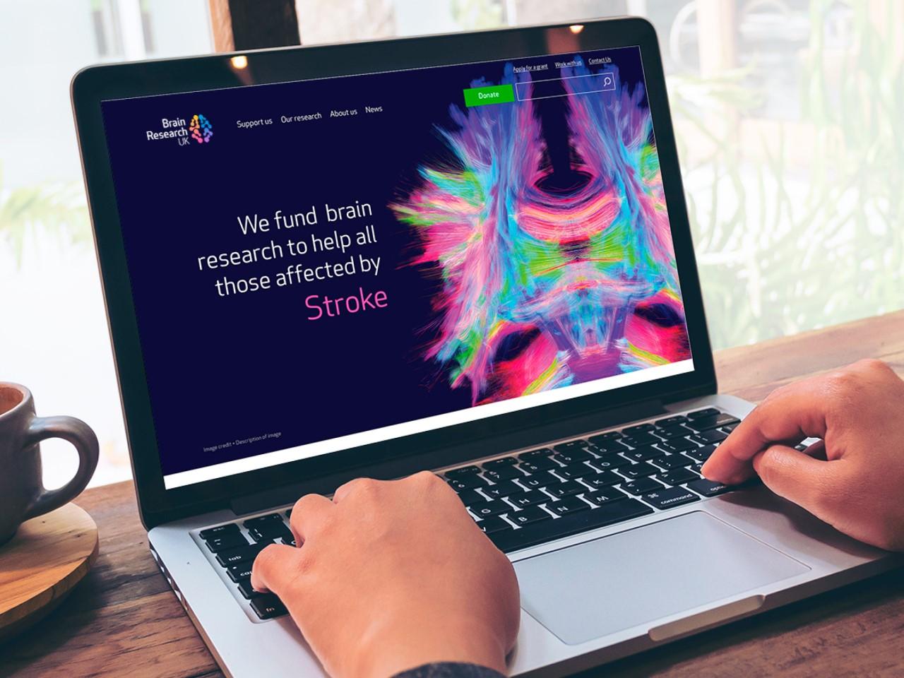 Brain Research UK website
