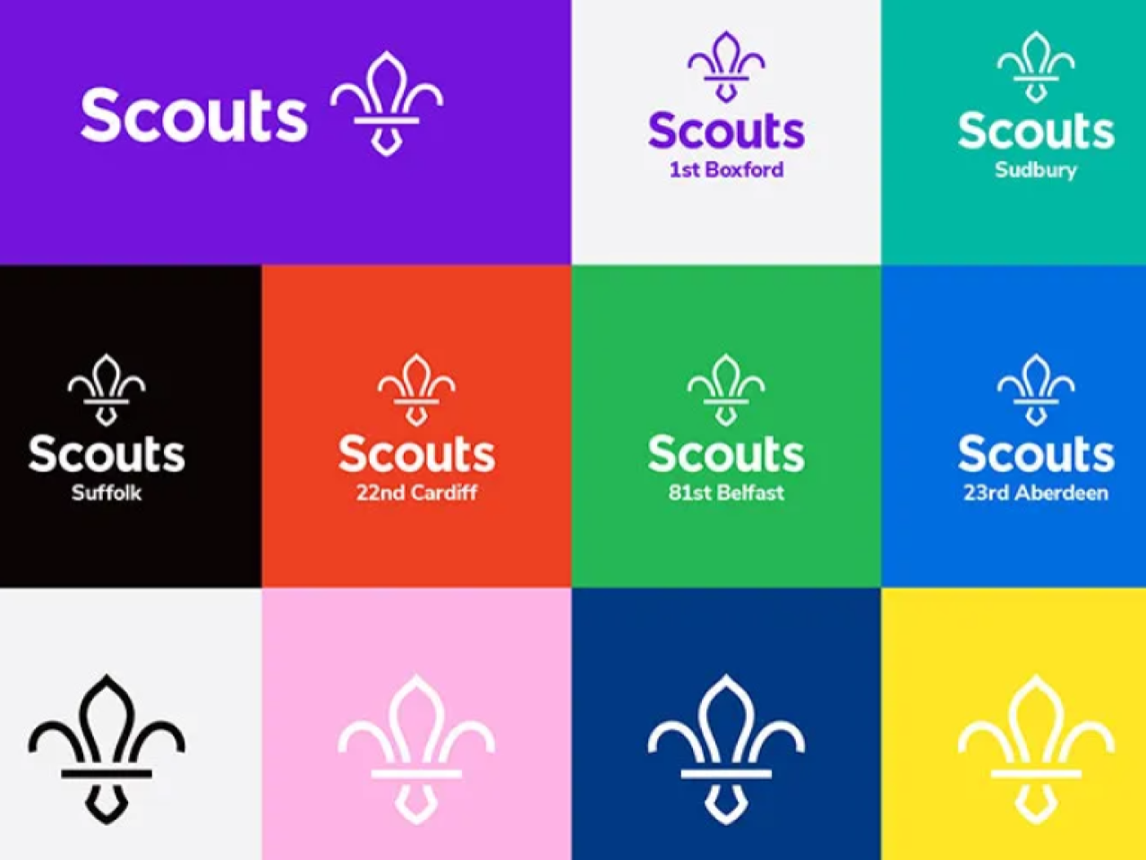 The new Scouts logo