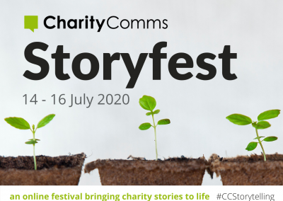 CharityComms Storyfest 14 – 16 July