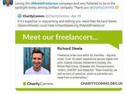 #MeetAFreelancer