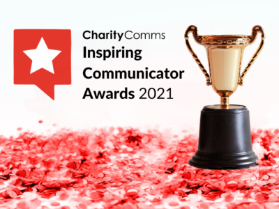 ICA 2021 promotional image featuring red stars and a gold cup on a white background
